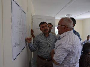 DSİ 13. Bölge Müdürü Özgür, Manavgat'taki Şantiyeleri İnceledi