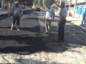 Reyhanlı'da Yol Yapım Çalışmaları
