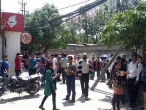 Nepal'de 7,4 Büyüklüğünde Deprem