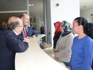AK Parti Trabzon Milletvekili Adayı Süleyman Soylu, Belediyeleri Gezdi