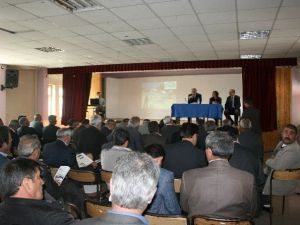 İl Tarım Müdürlüğü Pasinler'de Bilgilendirme Ve Tanıtım Toplantısı Düzenlendi