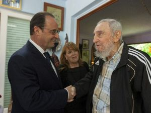 Hollande'dan ABD'ye Küba'ya Uygulanan Ambargoların Kaldırılması Çağrısı