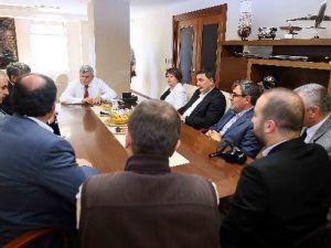 Başkan Karaosmanoğlu MÜSİAD'ı Misafir Etti