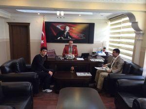 Yönetmen Bilişik'ten Kaymakam Ali Arıkan'a Ziyaret