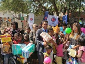 Namibya'da Yetimhanede Yaşayan Çocuklara Destek