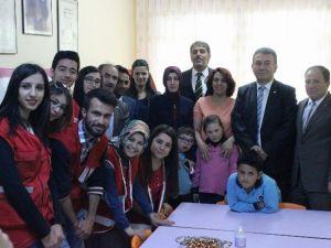 Kızılay Cumhuriyet İlkokuluna Özel Eğitim Sınıfı Yaptırdı