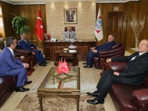 Kosb Yönetim Kurulu Üyelerinden Melikgazi Belediye Başkanı Büyükkılıç'a Ziyaret
