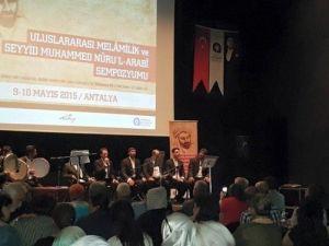 Uluslararası Melamilik Ve Seyyid Muhammed Nurul Arabi Sempozyumu Sona Erdi