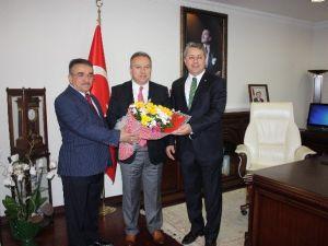 Esnaf Temsilcileri Vali Ali Fidan'ı Ziyaret Etti