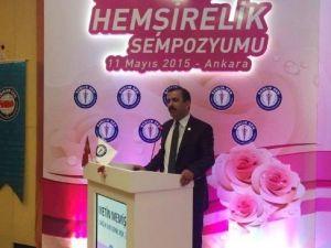 """Sağlık-sen Genel Başkanı Memiş: """"Hemşirelerimizin Sorunları Çözülmeli"""""""