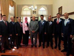 SGK Yöneticilerinden Vali Çomaktekin'e Ziyaret