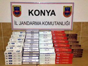 Konya'da Kaçak Sigara Ve Zeytinyağı Ele Geçirildi