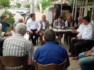 Ağrı Milletvekili Ekrem Çelebi'nin Antalya Mesaisi