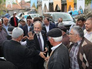 AK Parti'li Uslu'dan Köy Ziyaretleri