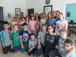 Etüt Merkezinden, Turkuaz Satranç Kulübüne Ziyaret