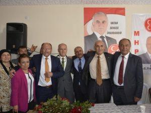 MHP Adayları Mucur İlçesinde Birliktelik Mesajı Verdi