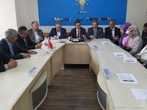 AK Parti Milletvekili Adayı Ünal Seçim Çalışmalarını Sürdürüyor