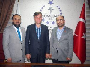 Rektör Adayı Okumuş'tan TÜMSİAD'a Ziyaret