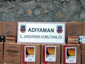 Adıyaman'da 30 Bin Paket Kaçak Sigara Ele Geçirildi