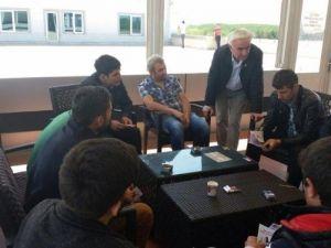 CHP Adayı Teber İşçiler İle Bir Araya Geldi