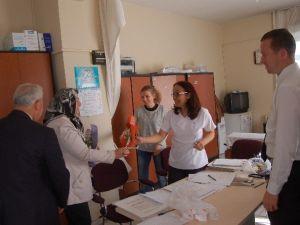 Lapseki'de Hemşireler Haftası Kutlamaları