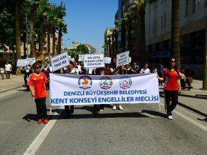 Denizli'de Engelliler Haftası Kutlanıyor