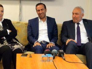 Ak Parti'den Yeni Malatyaspor'a Tebrik Ziyareti