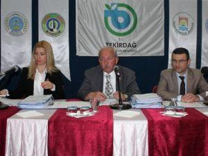 Tekirdağ Büyükşehir Belediye Meclisi Toplandı