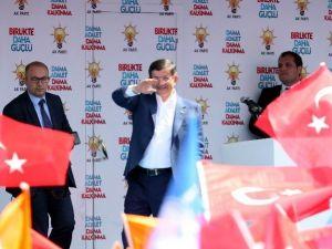 Başbakan Davutoğlu Isparta'da (1)