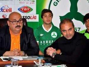 Giresunspor Kulüp Başkanı Mustafa Bozbağ: