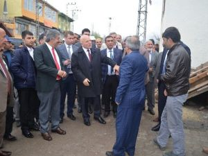 Fırat Ve Sekmen, Köprüköy'e Çıkarma Yaptı