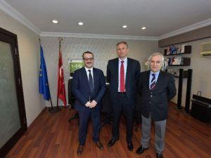 Fransa'nın Türkiye Büyükelçisi Bili'den Ttso'ya Ziyaret