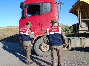 Jandarma'dan 8 Bin 784 TL Tonaj Cezası