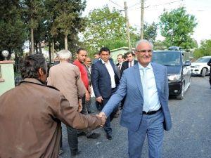 Başkan Yılmaz, Bafra'daki Alt Yapı Çalışmalarını İnceledi