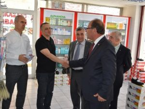 MHP'li Oprukçu Seçim Çalışmalarını Sürdürüyor