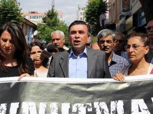 HDP'liler Soma Faciasını Protesto Etti