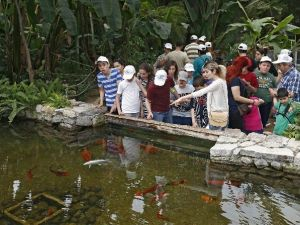 Özel Çocuklar Doğal Yaşam Parkını Gezdi