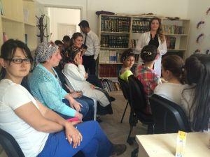 Kartepe'de Bilgi Evi Çocuklarına Geri Dönüşüm Anlatıldı