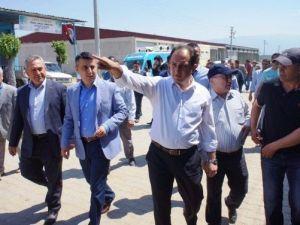 AK Parti Manisa Milletvekili Adayı Murat Baybatur Sarıgöl'de