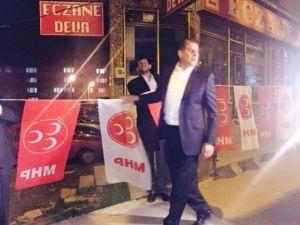 Zekai Kaya'dan Gündüz Seçim Ziyaretleri, Gece Bayrak Seferberliği