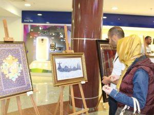 """""""Vakıf Ve Sanat"""" Temalı Resim Sergisi Açıldı"""