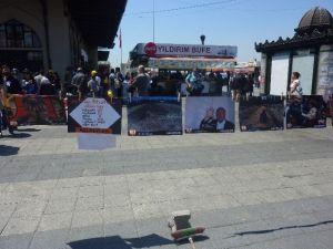 """""""301"""" Madenciyi Anmak İçin İstanbul'dan Soma'ya Yürüyorlar"""