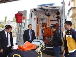 Göksun'a Tam Donanımlı Ambulans
