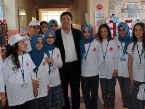 Başkan Yazgı TÜBİTAK Bilim Fuarı'nı Ziyaret Etti