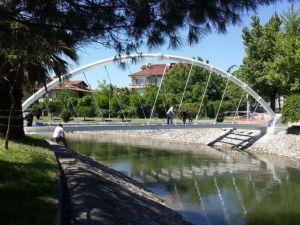Çark Deresi'ne Yeni Yaya Köprüsü