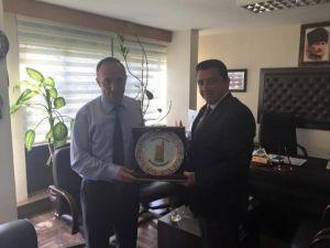 Başkan Bakıcı Bursa Karayolları Bölge Müdürlüğü'nü Ziyaret Etti