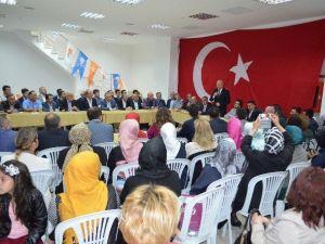 Ak Teşkilatlar Mitinge Ve Seçimlere Hazır