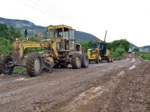 Büyükşehir'in Yol Çalışmaları Devam Ediyor