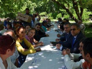 Edremit Belediyesi Engelli Misafirlerini Ağırladı