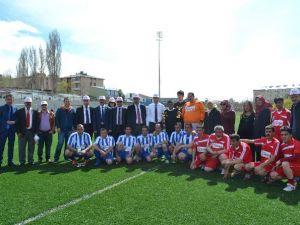 Erzurum'da Engelliler Haftası Futbol Müsabakası